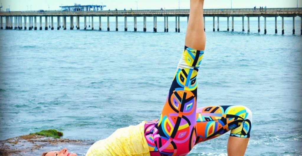 Bridge Pose Root Chakra Christi Silbaugh for TryBelle Magazine