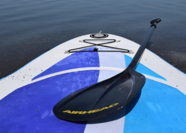 Airhead iSUP Paddleboard perfect for SUP Yoga