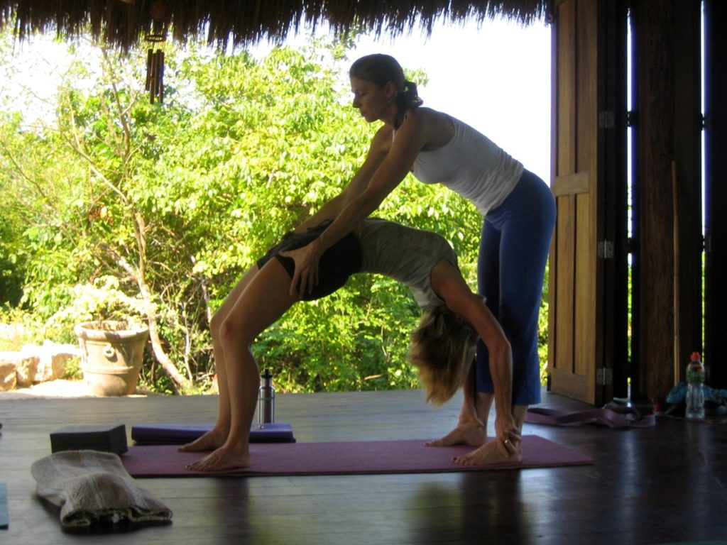 Yoga at the yoga shala Haramara Retreat by Fabrice Florin