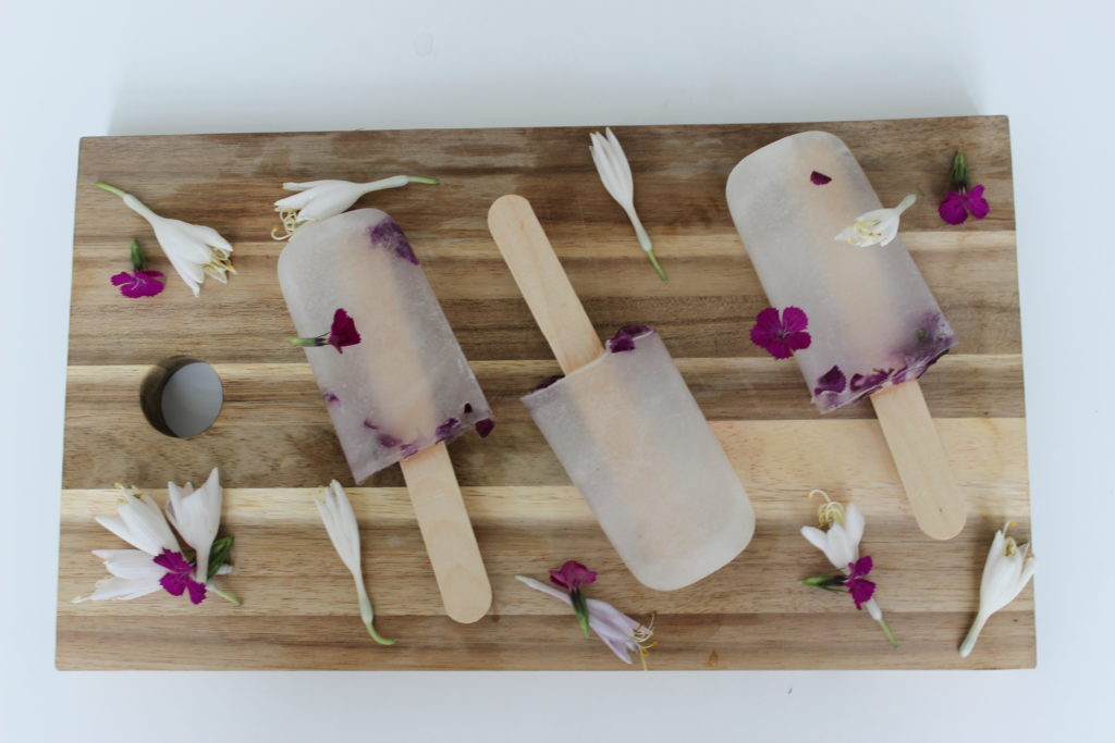 Coconut water ice pop recipe simple and healthy